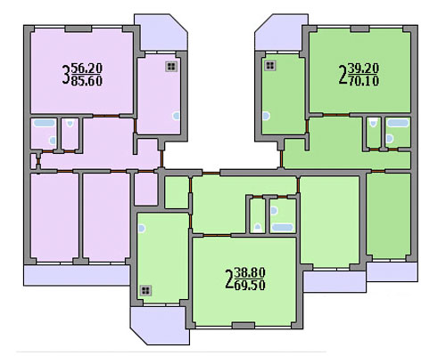 Типовые планировки дома серии бекерон, планировки дома серии.