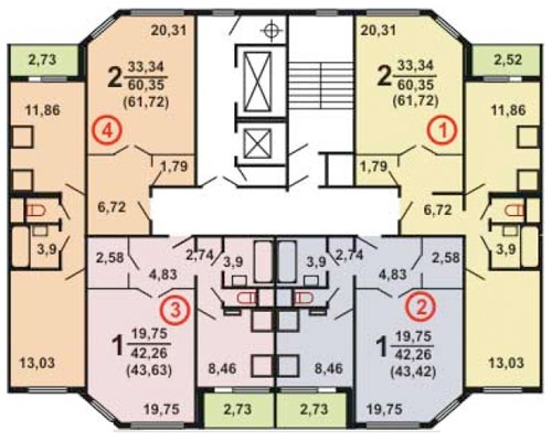 Типовые планировки дома серии и-155мк, планировки дома серии.