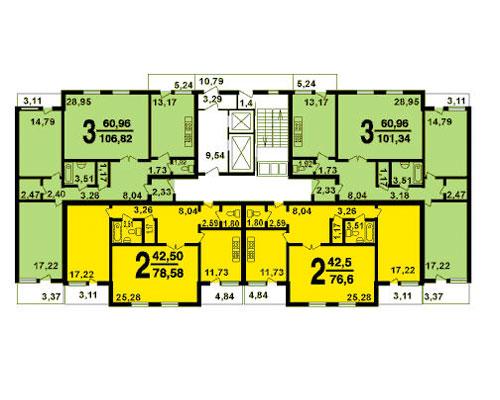 Типовые планировки дома серии мгс-2001, планировки дома сери.