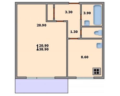 Типовые планировки дома серии п-46м, планировки дома серии п.