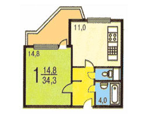Серия пд4 схема лоджии.